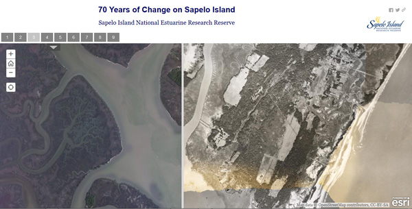 Sapelo Island Interactive Change Map